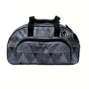 IKURI Weekender - Wasserdichte Tasche Für Frauen Sporttasche Schwimmtasche Umhängetasche für Fitness, Sauna und Wellness Kliniktasche Reisetasche aus Plane Retrolook - Design Diamante