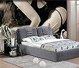 HONGYAUNZHANG Schwarz Und Weiß Paar Benutzerdefinierte Fototapete 3D Stereoskopische Wandbild Wohnzimmer Schlafzimmer Sofa Hintergrund Wandmalereien,290Cm (H) X 370Cm (W)