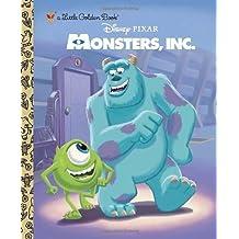 Monsters, Inc. Little Golden Book (Disney/Pixar Monsters, Inc.) by RH Disney (2012) Hardcover
