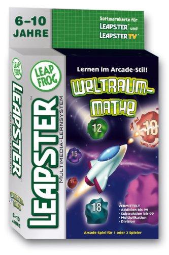 Preisvergleich Produktbild LeapFrog 42287045 - Leapster Software: Arcade Game Weltraum-Mathe