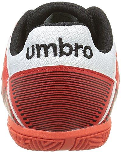 Umbro Sala Liga Ic Ad, Chaussures de Football Amricain Homme Orange (Grenadine/Noir/Vert/Blc 43)