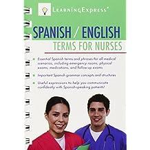 Spanish/English Terms for Nurses