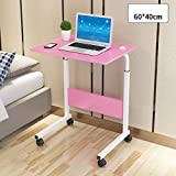 LiTing Klapptisch Computertisch Faule Nachttisch Desktop Home Einfache Schreibtisch Schlafsaal Einfache Bett Kleine Tabelle Bewegliches Heben (Color : G)