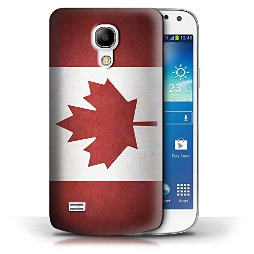 Etui / Coque pour Samsung Galaxy S4 Mini / Columbia/Colombie conception / Collection de Drapeau Canada/canadien