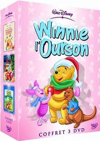 Coffret Winnie l'ourson 3 DVD : Les Aventures de Winnie l'ourson / Bonne année / Le Monde magique de Winnie l'Ourson - Vol.1