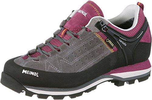 Meindl zustiegs Chaussures Femme gris/rouge