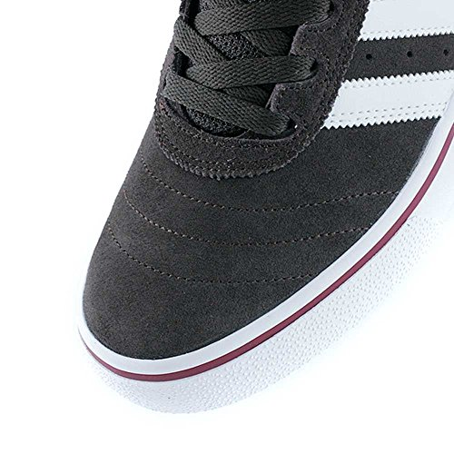 adidas Busenitz Vulc ADV, Chaussures de Skateboard Homme, Bleu, 40,5 EU Brown/Ftwr White/Collegiate Burgundy
