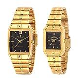 Geonardo's Aristocrat Golden Watch Combo...