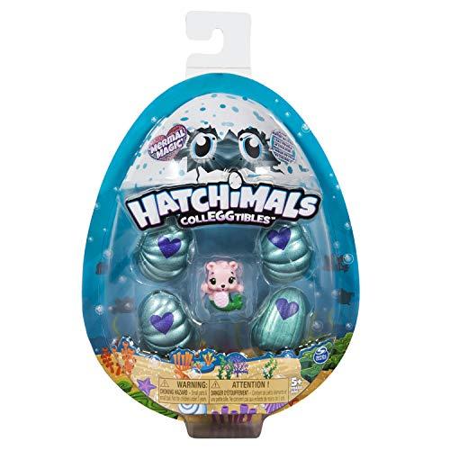 Hatchimals à Collectionner – 6045522 – Pack de 5 Figurines Saison 5 – Modèles Aléatoires