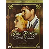 Jean Harlow & Clark Gable: Saratoga (1937) / Red Dust (1932) - Region 2 PAL Double-DVD Collector's Box Set [Import] by Clark Gable