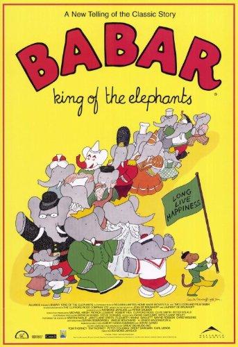 Pop Culture Graphics Babar: King of the que se reflejan como elefantes...