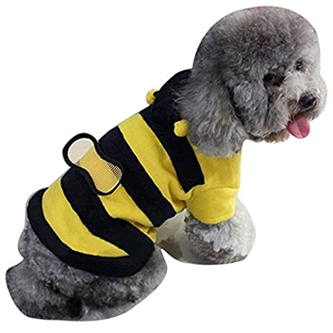 Costumes Dog Bee - Meizu88 Bee Style pour animal domestique Chat Chien