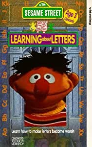 sesame street learning about letters sesame learning about letters vhs sesame 24809 | 514HRMKDWVL. SY300 QL70