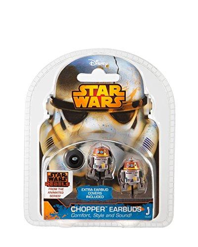 Star Wars Rebels Auricolari Stereo, Figura Chopper, Multicolore