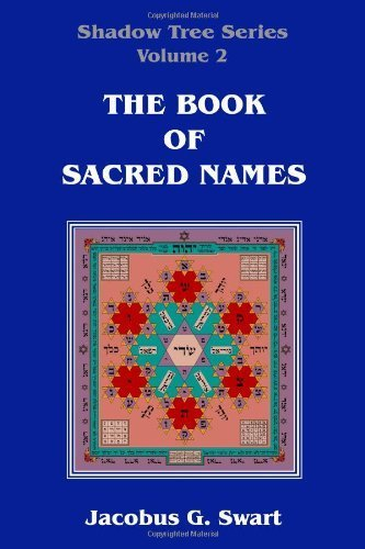 The Book of Sacred Names by Jacobus G. Swart (2012-03-30)