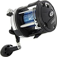 NGT FRL-LS3000 Line Multiplier Fishing Reel with 25lb Line, Black