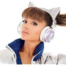 Auricular Audio orejas de gato, Ariana Grande, Bluetooth inalámbrico con altavoz y 8elección de colores, edición limitada–axent Wear