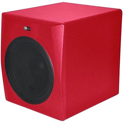 Monkey Banana Gibbon 10s red Studio Subwoofer mit 10\' Lautsprecher Farbe: rot