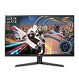 LG 32GK650F-B Pantalla para PC 80 cm (31.5') WQXGA LED Plana Mate Negro, Rojo - Monitor (80 cm (31.5'), 2560 x 1440 Pixeles, WQXGA, LED, 5 ms, Negro, Rojo)