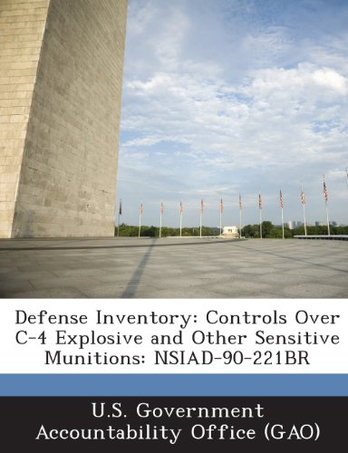 Defense Inventory: Controls Over C-4 Explosive and Other Sensitive Munitions: Nsiad-90-221br