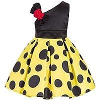 KOKQSX-Girls'dresses New Kids' Vestidos Faldas de Princesa Gourl 140cm