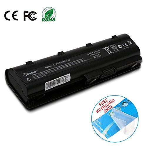 Batteriol Hochleistung Notebook Laptop Akku für HP 593553-001 593554-001 MU06 Pavilion G4 G6 MU09 593562-001 DV6 DV7 CQ42 CQ56 CQ57 CQ62 6-Zellen 10.8V 4400mAh