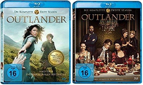 Blu-ray Set * Outlander - Staffel/Season 1+2 * Alle Folgen der 1. und ()