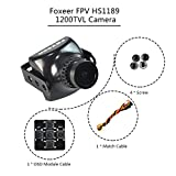 Foxeer HS1189 FPV Kamera 1200TVL 26mm 2,8mm Objektiv Sony Super Hatte II COMS IR Block für QAV250 Rennen Drohne etc
