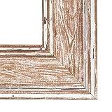 Inov8-A4-lavar-tamao-grande-Marco-de-espejo-cabina-de-telfono-britnica-2-unidades-madera-de-nogal