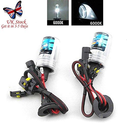 autofather 55W H8/H9/H11HID Fari allo xeno lampadine bulbs-2pezzi di ricambio