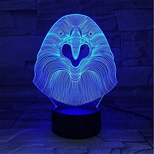 For Lampe Lights Touch 3d Sleeping Color Owl Night 7 Usb Lamp Baby Fushoulu Light Table Desk Led Gift Nightlight Kids Acrylic 8nNOPwZkX0