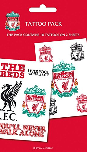 Liverpool Temporary Tattoo Pack