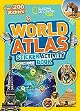 World Atlas Sticker Activity Book
