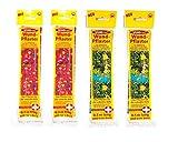4 x Kinderpflaster/Pflaster / Kinder Wundpflaster Wundverband zuschneibar für Jungen und Mädchen, 2 m x 6 cm
