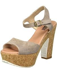 SHOOT Shoot Shoes Sh-160171vv Damen Sommer Leder High Heels Plateau Sandale - Sandalias Mujer