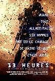 13horas: El secreto soldados de Bengasi–canadiense importado película Wall Póster Print–30cm x 43cm Producto nuevo