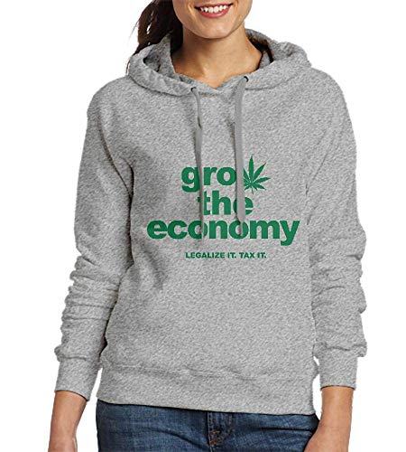 Sweatshirts for Women Grow The Economy Womens Hoodies
