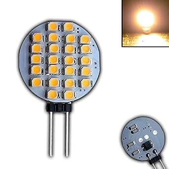 PB-Versand Ampoule LED G4 à 6 SMD large 0.75 W avec angle 120° 12 v courant continu