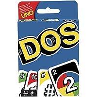 Mattel Games UNO Dos, Juego de Cartas (Mattel FRM36)