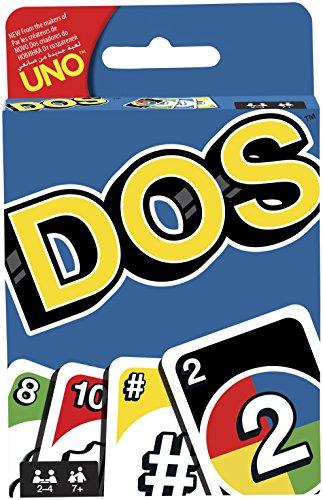Mattel Games - Uno - Dos Juego de Cartas (MATTEL FRM36)