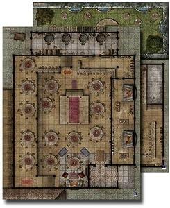 GameMastery Flip-Mat: Urban Tavern (Gameastery Flip Mat)
