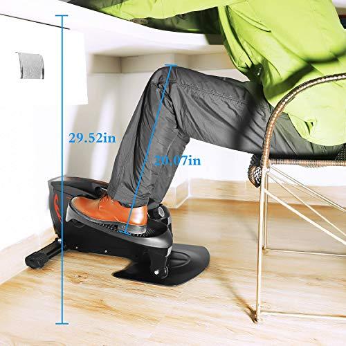 LOVEQIZI Mini Ellipsentrainer – Under Desk Bike Bild 6*