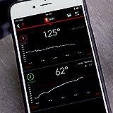 Weber Igrill Mini Bluetooth Thermometer, schwarz, 3.2 x 10.8 x 5 cm, 7220 -