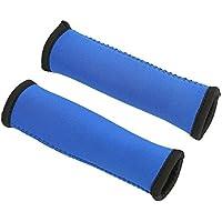 Apretones para Remos Antideslizante Suave Apretones de Paddle para Kayak Canoa (Paquete de 2) ( Color : Azul )