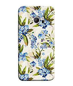 Fuson Designer Back Case Cover for HTC 10 :: HTC One M10 (can never despair caligraphy font)
