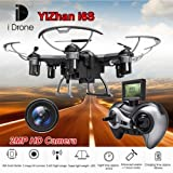 Yizhan die Drone i6s 6-assi Gyro 4-canali 2.4 GHz RC Mini Quadcopter Drone mit 2.0 MP Camera & Fernbedienung