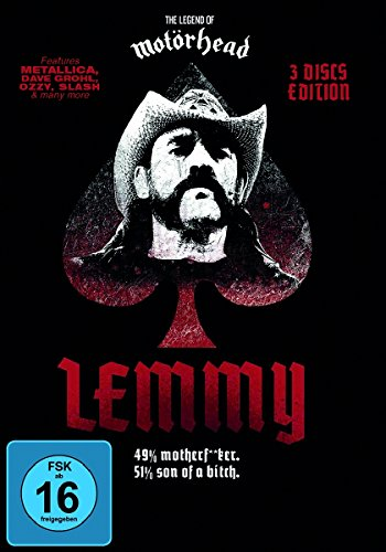 Lemmy (Limited Black Edition, 3 Discs, OmU)