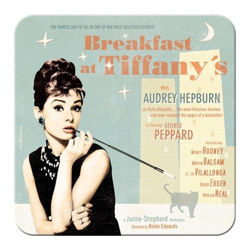 Nostalgic-Art 46135 Breakfast at Tiffany's Blue, Untersetzer
