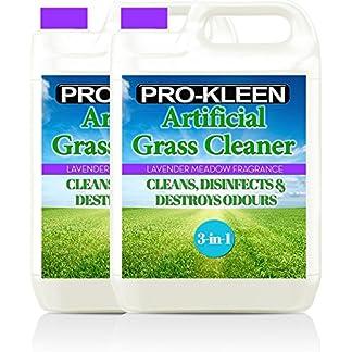 Pro-Kleen Lavender 2 x 5 Litres Artificial Grass Disinfectant Outdoor Cleaner + Deodoriser 10