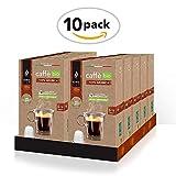 King Cup - Caffè Biologico & Fairtrade - 100% Arabica monorigine - 10 confezione da 10 Capsule Biodegradabili Nespresso®* (100 capsule)